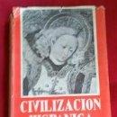 Libros de segunda mano: HISTORIA DE LA CIVILIZACIÓN E INSTITUCIONES HISPÁNICAS: ANTONIO PALOMEQUE. 1.966. Lote 114420671