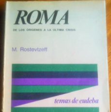 Gebrauchte Bücher - Roma: M. Rostovtzeff 1.958 - 114422607