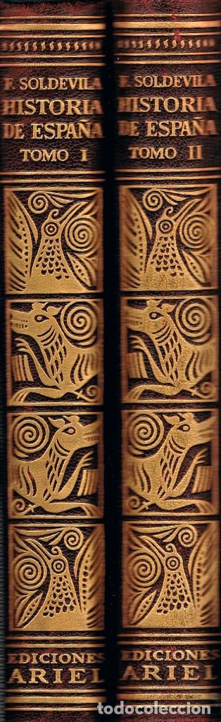 SOLDEVILLA, HISTORIA DE ESPAÑA, TOMO I Y II, HISTORIA MEDIEVAL, AÑO 1952, 592 PÁGINAS (Libros de Segunda Mano - Historia Antigua)