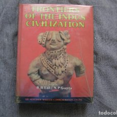 Libros de segunda mano: FRONTIERS OF THE INDUS CIVILIZATIONS. Lote 114702043