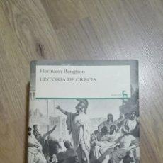 Libros de segunda mano: HISTORIA DE GRECIA. HERMANN BENGTSON.. Lote 115402242
