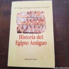 Libros de segunda mano - Historia del Egipto Antiguo. R.G. Trigger, B.J. Kemp, D. O'Connor y A.B. Lloyd - 116155270