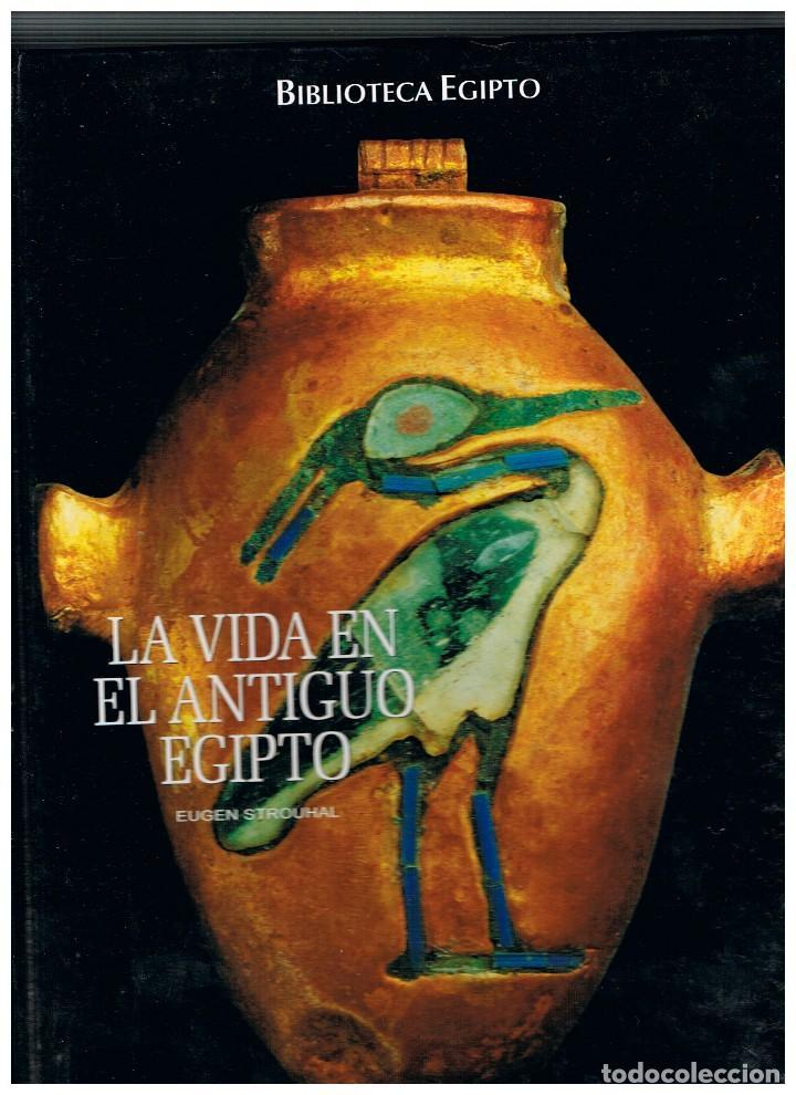 LA VIDA EN EL ANTIGUO EGIPTO POR EUGEN STROUHAL (Libros de Segunda Mano - Historia Antigua)