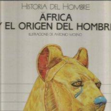 Libros de segunda mano - HISTORIA DEL HOMBRE. AFRICA Y EL ORIGEN DEL HOMBRE. EDICIONES SM - 116650279