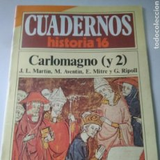 Libros de segunda mano: CUADERNOS HISTORIA 16,NUM 155 CARLOMAGNO (Y2). Lote 116713072