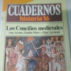 Libros de segunda mano: CUADERNOS HISTORIA 16--Nº 76 LOS CONCILIOS MEDIEVALES. Lote 116714871