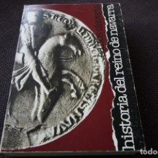 Libros de segunda mano: HISTORIA DEL REINO DE NAVARRA - CARLOS CLAVERIA ARZA. Lote 116836079