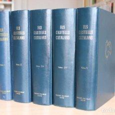 Libros de segunda mano: PERE CATALÀ (DIR) - ELS CASTELLS CATALANS. 5 TOMOS - RAFAEL DALMAU EDITOR. Lote 117732215
