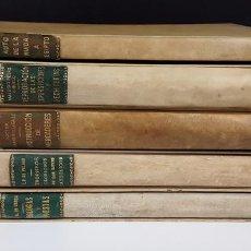 Libros de segunda mano: COLECCIÓN JOYAS BIBLIOGRÁFICAS. 5 VOLÚMENES. VARIOS AUTORES. 1945/1952.. Lote 119203843