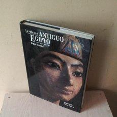 Libros de segunda mano: EUGEN STROUHAL - LA VIDA EN EL ANTIGUO EGIPTO - EDICIONES FOLIO 1994. Lote 119527339