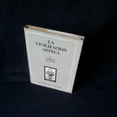 Libros de segunda mano: CORDOVA ITURBURU - LA CIVILIZACION AZTECA - COLECCION ORO 36 - ATLANTIDA TERCERA EDICION 1951. Lote 119838179