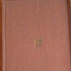 Libros de segunda mano: LOS HEBREOS: BREVIARIOS DEL FONDO DE CULTURA ECONÓMICA Nº 111 LIBRO DE BOLSILLO. Lote 120186315