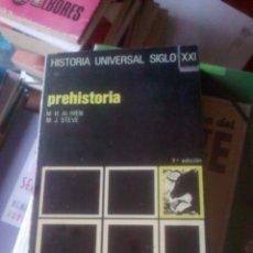 Libros de segunda mano: PREHISTORIA, DE MARIE HENRIETTE ALIMEN Y P. MARIE JOSEPH STEVE. SIGLO XXI, 1974. Lote 195235067