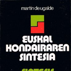 Libros de segunda mano: SINTESIS DE LA HISTORIA DEL PAIS VASCO (MARTIN DE UGALDE). Lote 121496407