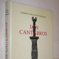 Libros de segunda mano: LOS CANTABROS - JOAQUIN GONZALEZ ECHEGARAY - ILUSTRADO *. Lote 122006615
