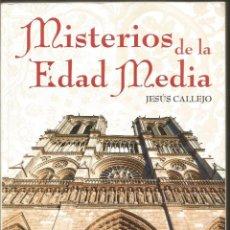 Libros de segunda mano: JESUS CALLEJO. MISTERIOS DE LA EDAD MEDIA. AKASICO. Lote 122018331