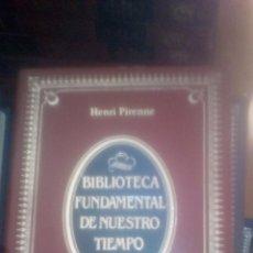 Libros de segunda mano: LAS CIUDADES DE LA EDAD MEDIA HENRI PIRENNE 1984 ED. ALIANZA. Lote 122081311