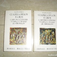 Libros de segunda mano - GUERRA DE LOS JUDIOS Y DESTRUCCION DEL TEMPLO DE JERUSALEN FLAVIO JOSEFO - 122203463