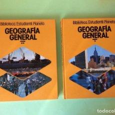Libros de segunda mano: GEOGRAFÍA GENERAL TOMOS- 1 Y 2. Lote 122581739