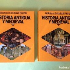 Libros de segunda mano: HISTORIA ANTIGUA Y MEDIEVAL TOMOS- 1 Y 2. Lote 122582567