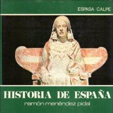 Libros de segunda mano: MENENDEZ PIDAL. TOMO I, VOLUMEN 3. ESPAÑA PRIMITIVA. Lote 122942911