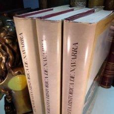 Libros de segunda mano: ETNOGRAFÍA HISTÓRICA DE NAVARRA - JULIO CARO BAROJA - 3 TOMOS - MUY ILUSTRADO - PAMPLONA - 1971 -. Lote 124014571