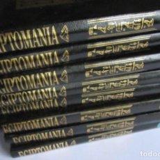 Libros de segunda mano: EGIPTOMANÍA. COLECCIÓN COMPLETA EN 8 TOMOS. PLANETA DEAGOSTINI 1997. VER FOTOGRAFÍAS EGIPTOMANÍA.. Lote 125118675