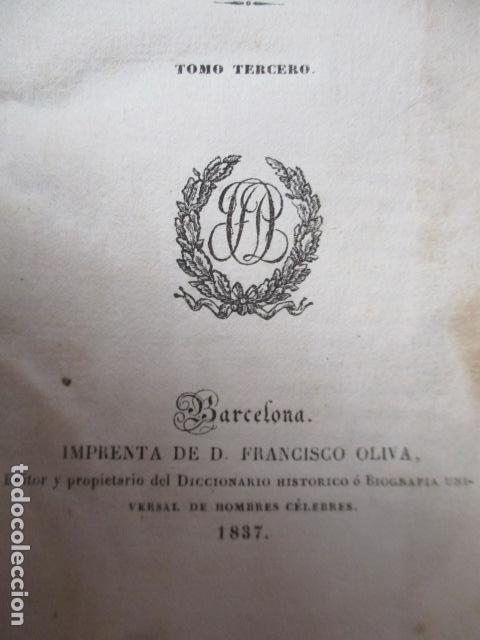 Libros de segunda mano: Historia de la Revolución de Inglaterra. Guizot. 1837. 3 Tomos - Foto 7 - 125224371