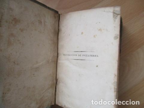 Libros de segunda mano: Historia de la Revolución de Inglaterra. Guizot. 1837. 3 Tomos - Foto 12 - 125224371