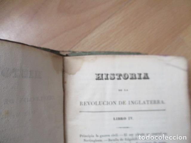Libros de segunda mano: Historia de la Revolución de Inglaterra. Guizot. 1837. 3 Tomos - Foto 17 - 125224371