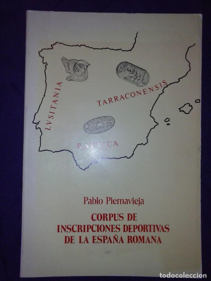 Libros de segunda mano: Corpus de inscripciones deportivas de la España romana - Pablo Piernavieja - Foto 2 - 125402747