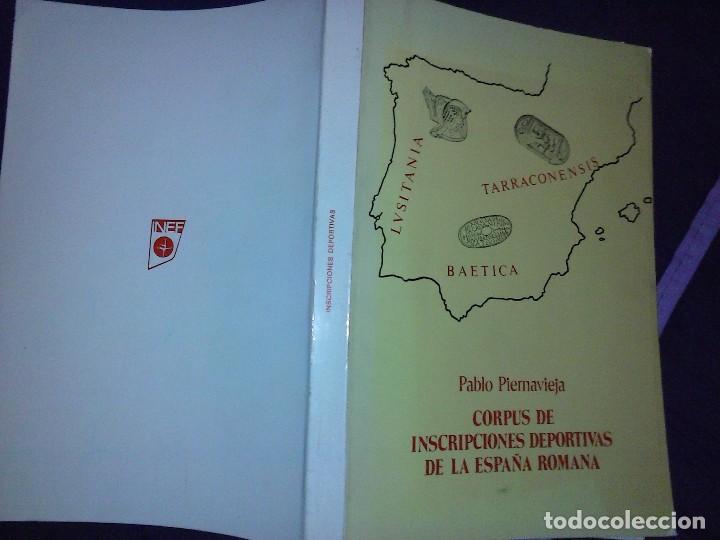 Libros de segunda mano: Corpus de inscripciones deportivas de la España romana - Pablo Piernavieja - Foto 3 - 125402747