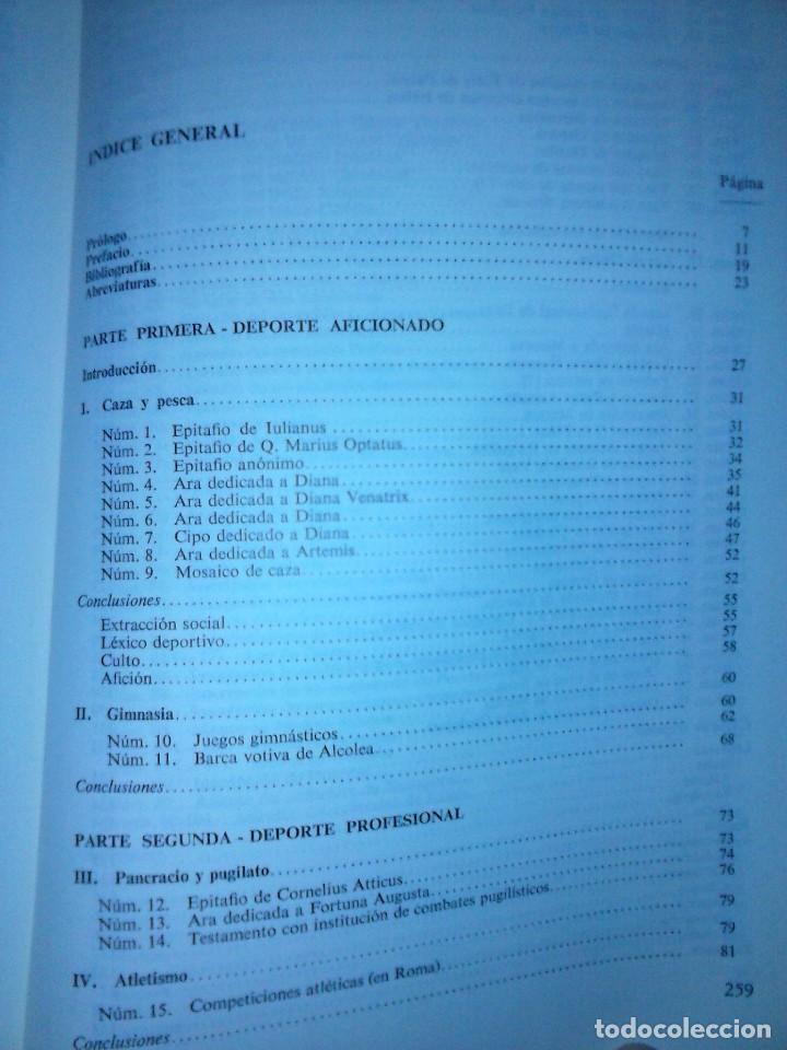 Libros de segunda mano: Corpus de inscripciones deportivas de la España romana - Pablo Piernavieja - Foto 7 - 125402747