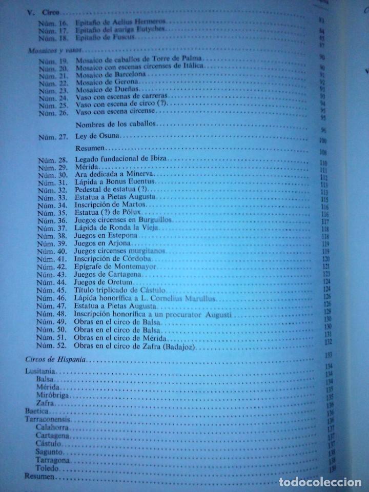 Libros de segunda mano: Corpus de inscripciones deportivas de la España romana - Pablo Piernavieja - Foto 8 - 125402747