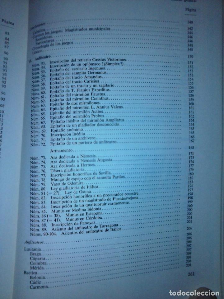 Libros de segunda mano: Corpus de inscripciones deportivas de la España romana - Pablo Piernavieja - Foto 9 - 125402747