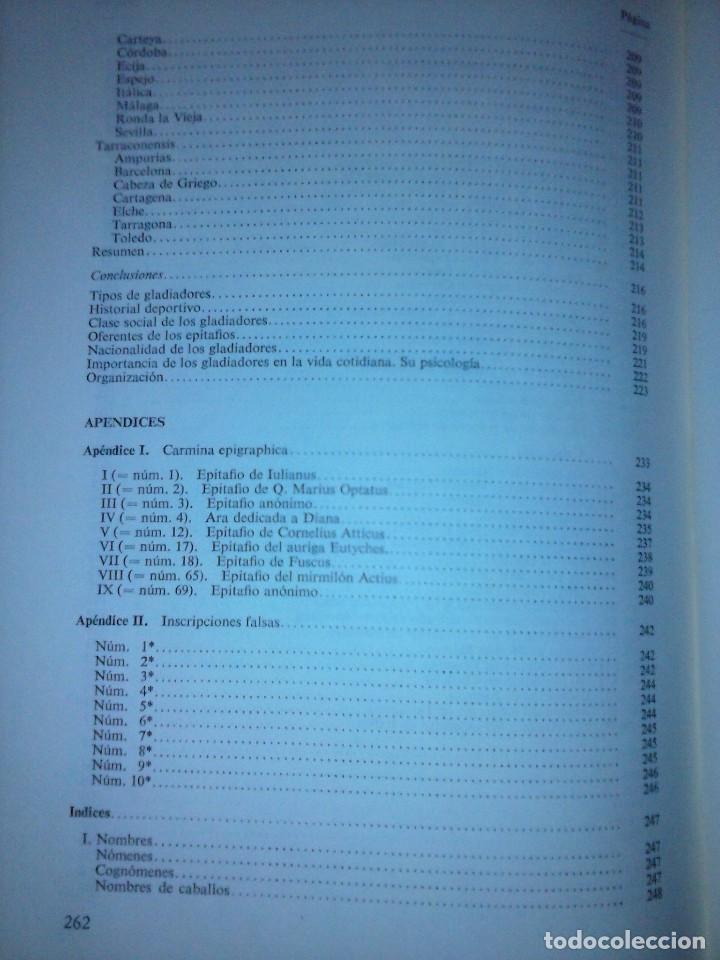 Libros de segunda mano: Corpus de inscripciones deportivas de la España romana - Pablo Piernavieja - Foto 10 - 125402747
