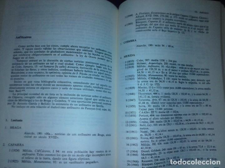 Libros de segunda mano: Corpus de inscripciones deportivas de la España romana - Pablo Piernavieja - Foto 19 - 125402747