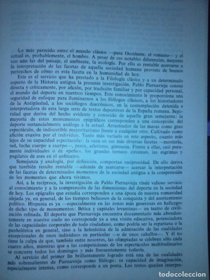Libros de segunda mano: Corpus de inscripciones deportivas de la España romana - Pablo Piernavieja - Foto 20 - 125402747