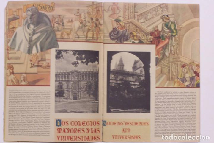 Libros de segunda mano: Curioso cuaderno bilingüe profusamente ilustrado por Saenz de Tejada,1951. Las ciencias y los logros - Foto 6 - 126062827