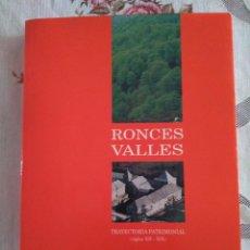 Libros de segunda mano: RONCESVALLES. TRAYECTORIA PATRIMONIAL (SIGLOS XII-XIX).. Lote 126535043