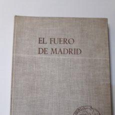 Libros de segunda mano: HISTORIA ESPAÑA SIGLO XIII MADRID - EL FUERO DE MADRID 1963 PRÓLOGO CONDE DE MAYALDE. Lote 126882436