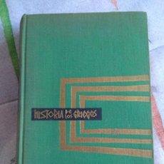 Libros de segunda mano: HISTORIA DE LOS GRIEGOS. INDRO MONTANELLI. 1963. Lote 277738378