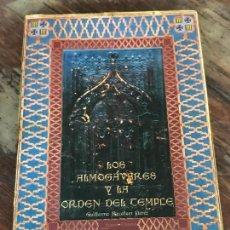 Libros de segunda mano: LOS ALMOGAVARES Y LA ORDEN DEL TEMPLE GUILLERMO ROCAFORT PÉREZ. Lote 128180067