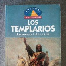 Libros de segunda mano: LOS TEMPLARIOS ENIGMAS DE LA HISTORIA. Lote 128377627