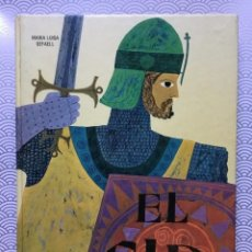 Libros de segunda mano: LIBRO EL CID DE MARÍA LUISA GEFAELL - 2A EDICIÓN 1969 - EDITORIAL NOGUER. Lote 128922411