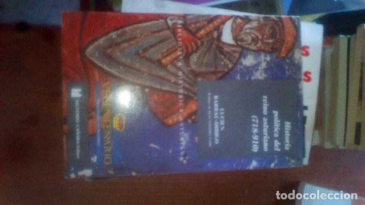 HISTORIA POLITICA DEL REINO ASTURIANO (718-910). LUCIEN BARRAU-DIHIGO. BIBLIOTECA HISTORICA ASTURI 5 (Libros de Segunda Mano - Historia Antigua)