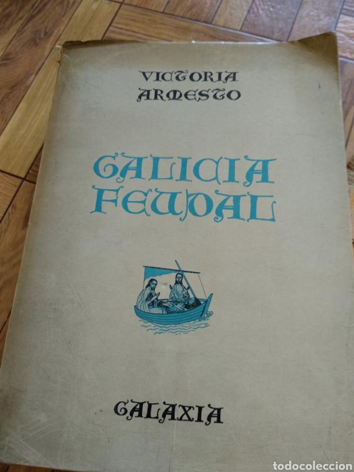 GALICIA FEUDAL, VICTORIA ARMESTO (Libros de Segunda Mano - Historia Antigua)