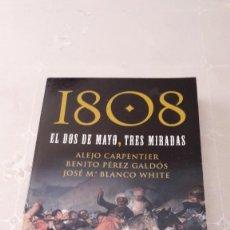 Libros de segunda mano: 1808, EL DOS DE MAYO, TRES MIRADAS. Lote 130051995