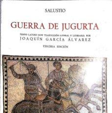 Libros de segunda mano: GUERRA DE JUGURTA. Lote 130215167