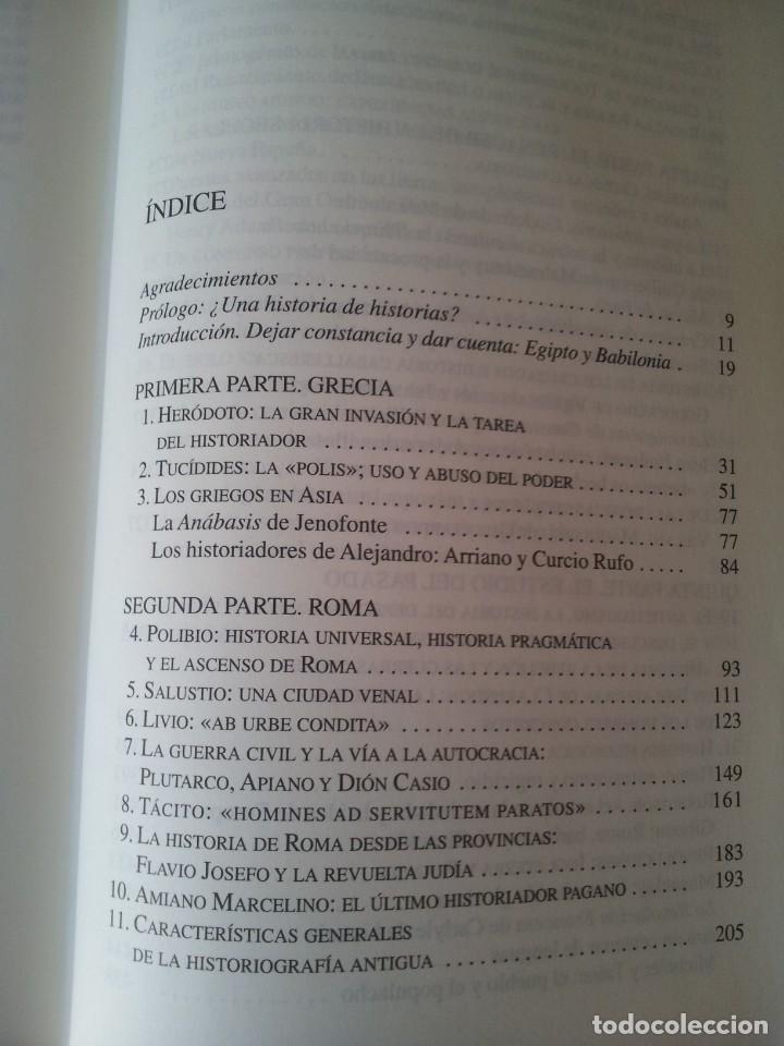 Libros de segunda mano: JOHN BURROW - HISTORIA DE LAS HISTORIAS, DE HERODOTO AL SIGLO XX - CRITICA 2008 - Foto 3 - 130321378